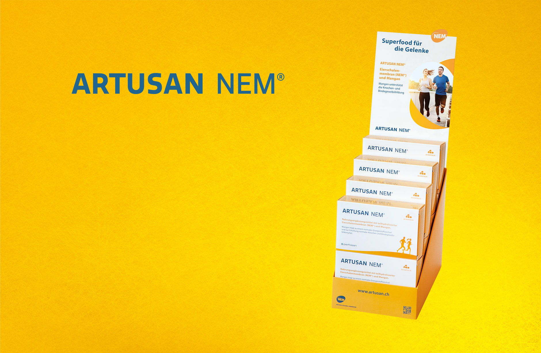 Artusan NEM – Thekensteller – Newsign Grafik