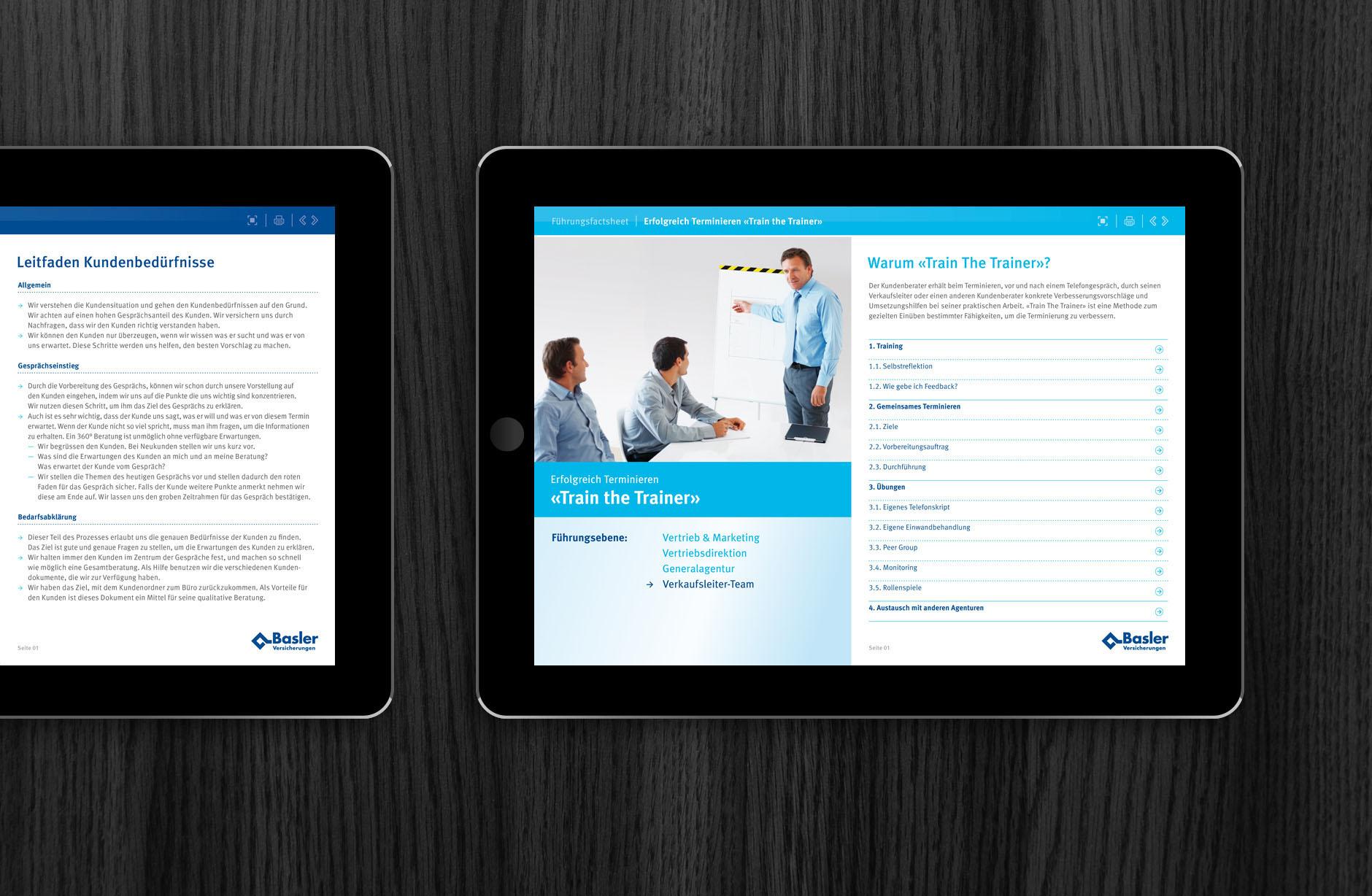 Basler Versicherungen Beratungsdokumente