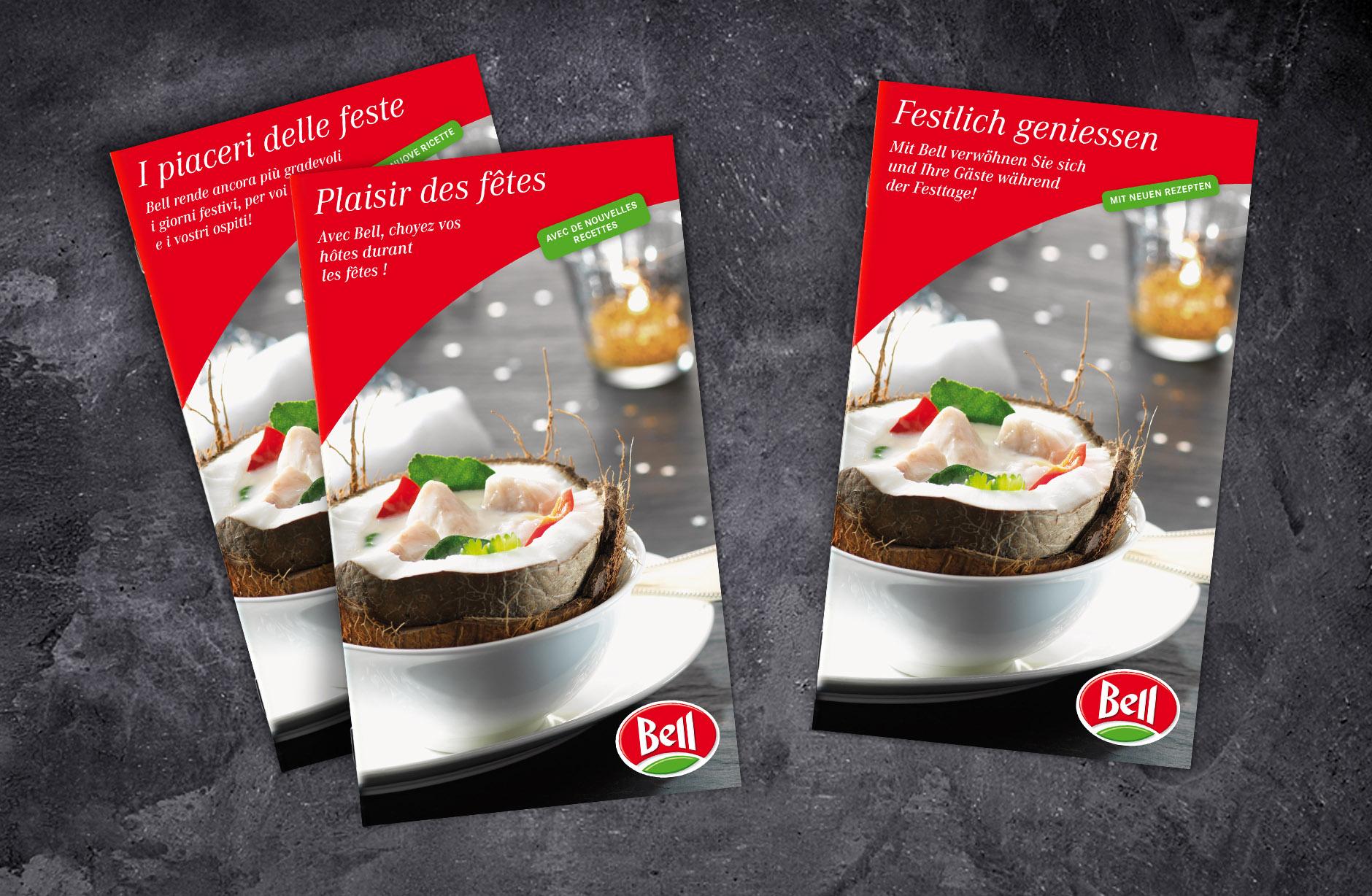 Bell Schweiz Festtagsbroschüre