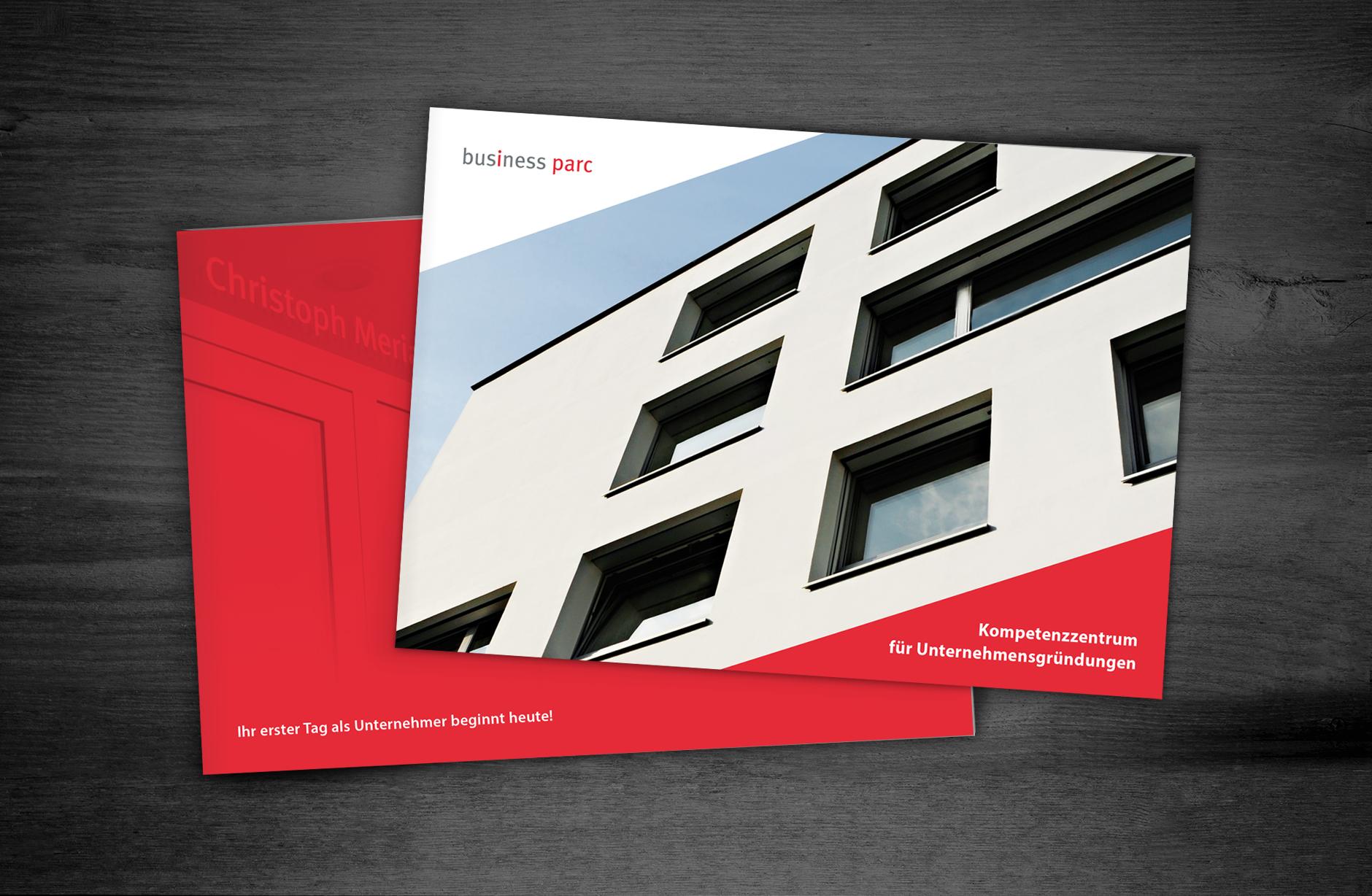 Businessparc Broschüre