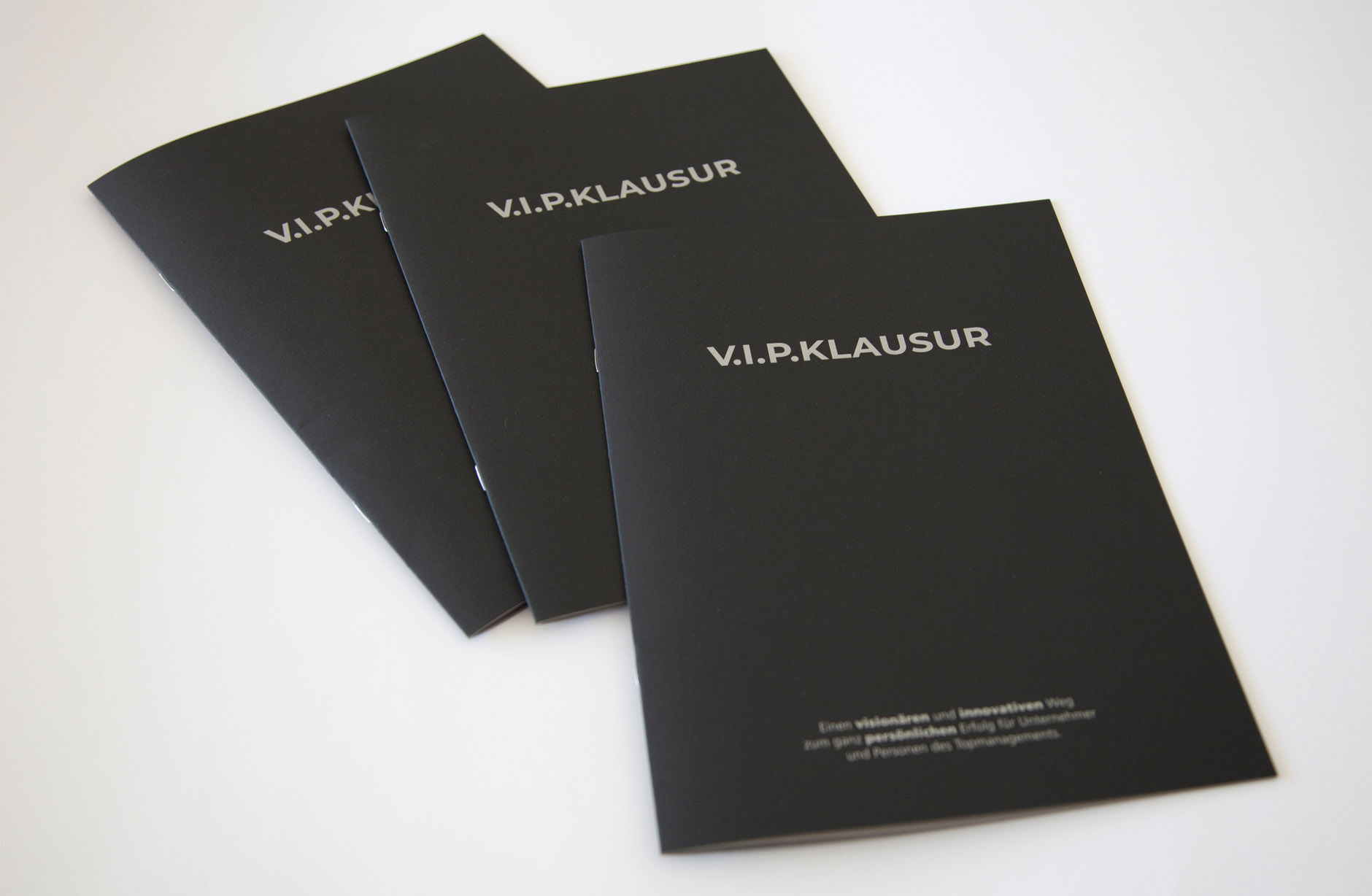 Clover Coaching V.I.P. Broschüre