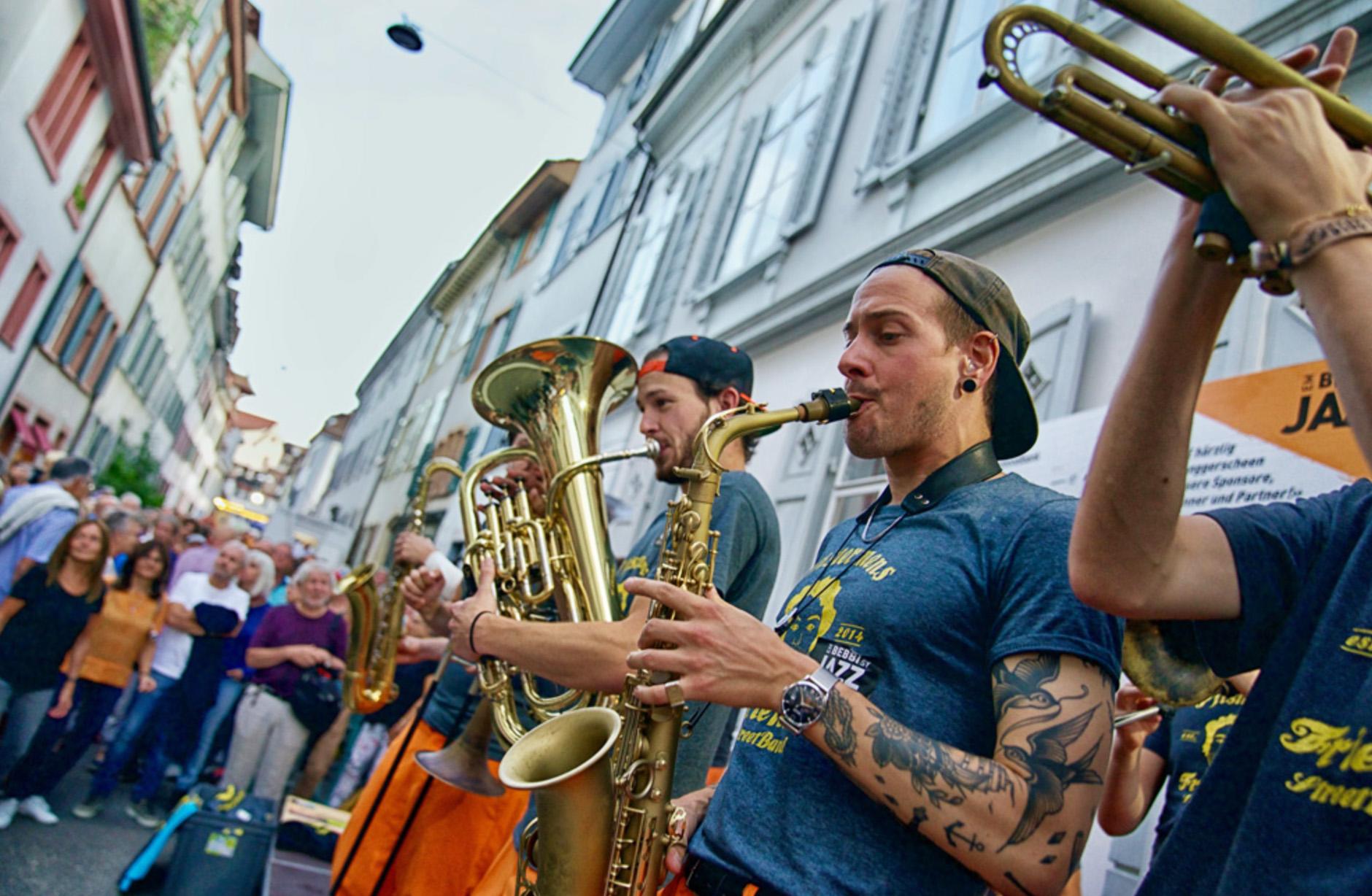 Em Bebbi sy Jazz – Bild