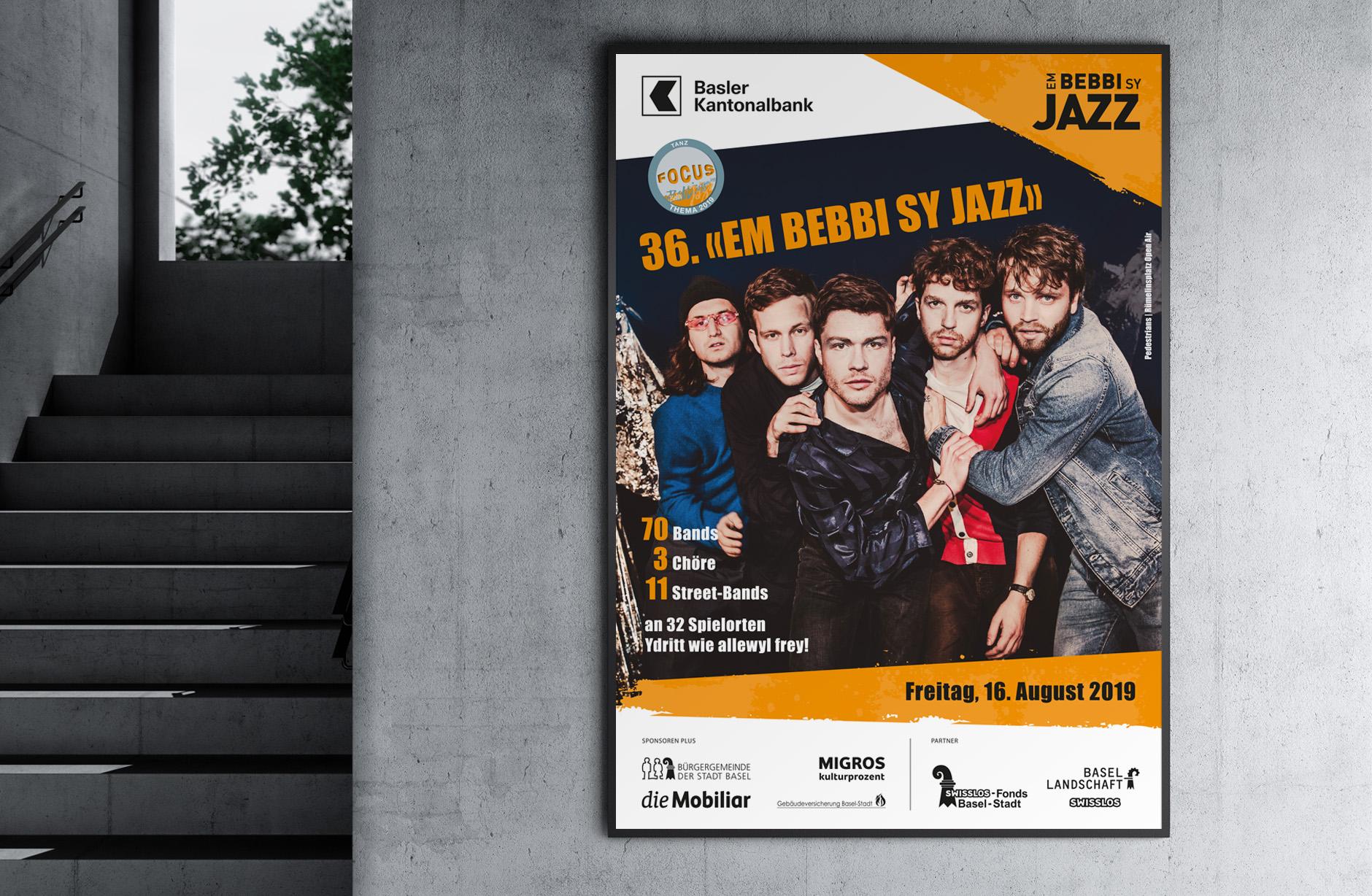 Em Bebbi sy Jazz Plakat