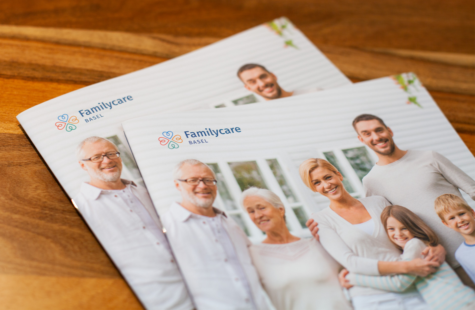 Familycare Basel Unternehmensbroschüre