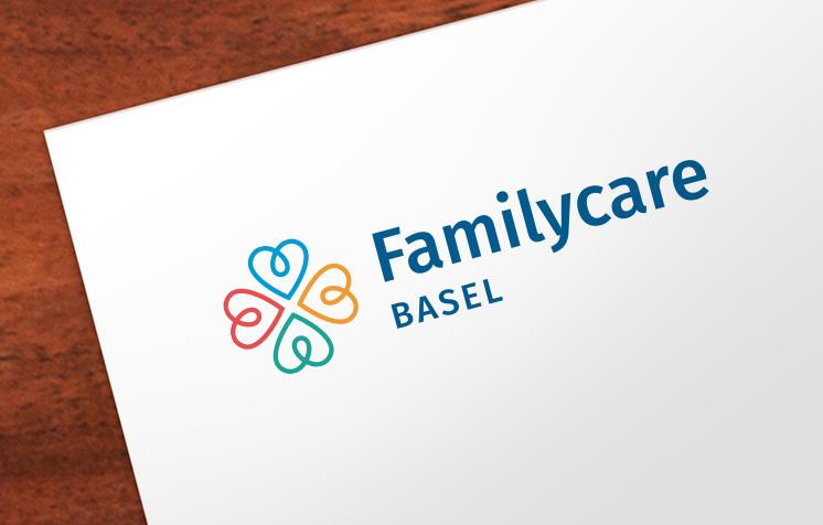 Familycare Basel Logo – Newsign Grafik