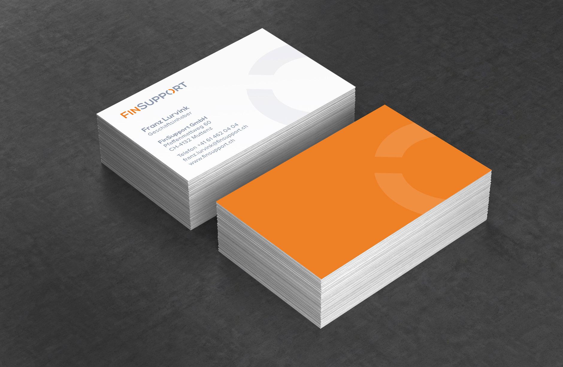 FinSupport Visitenkarten