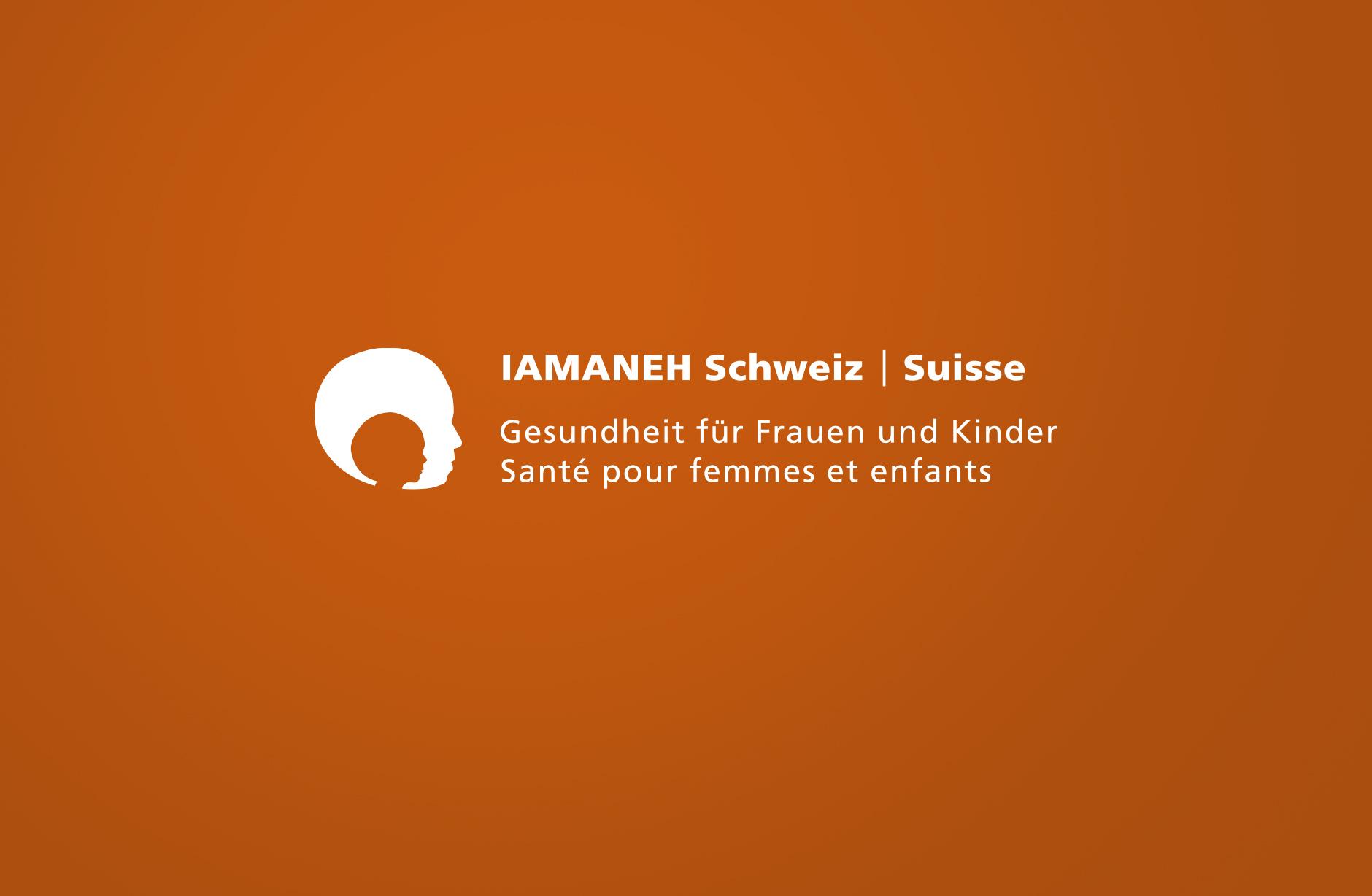Iamaneh Schweiz Logo – Newsign Grafik GmbH