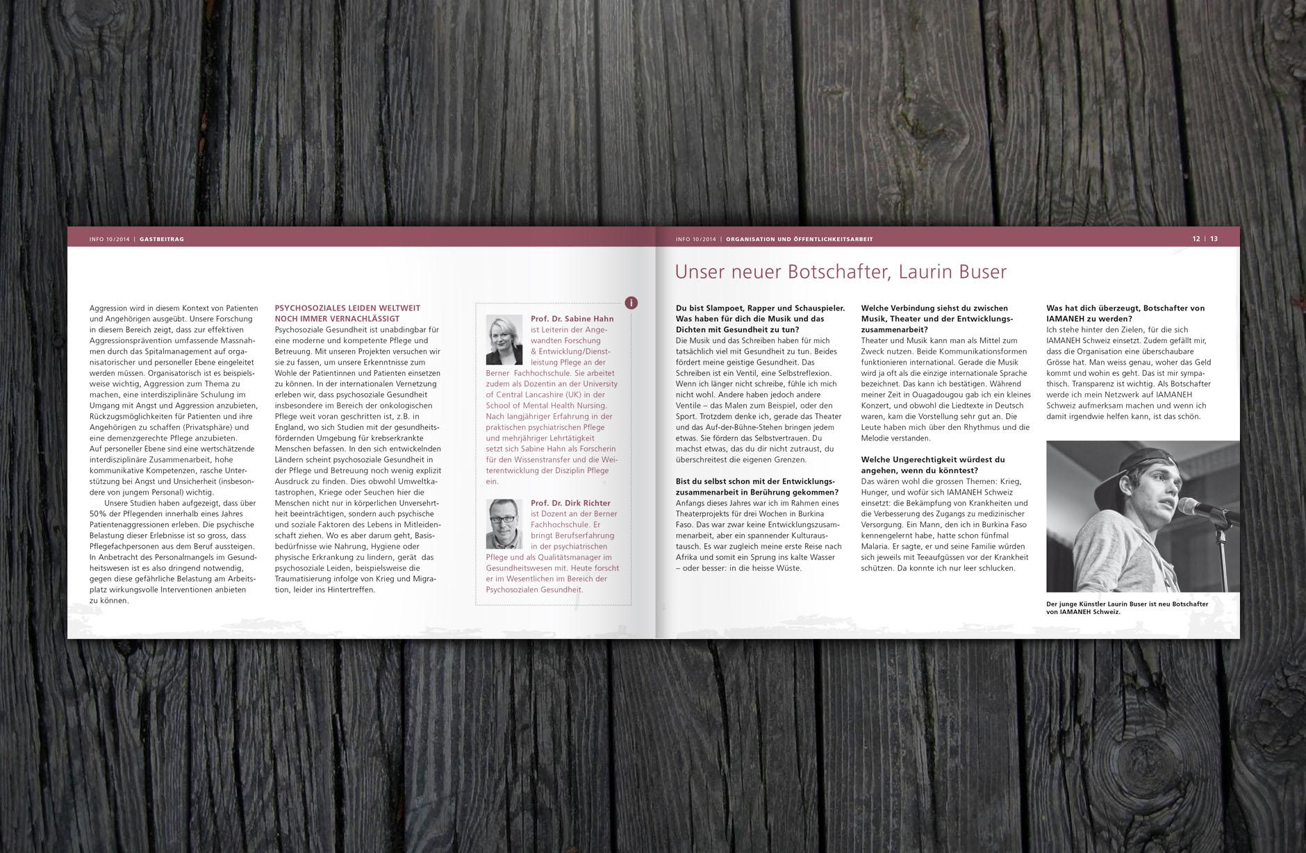 Iamaneh Schweiz INFO-Broschüre