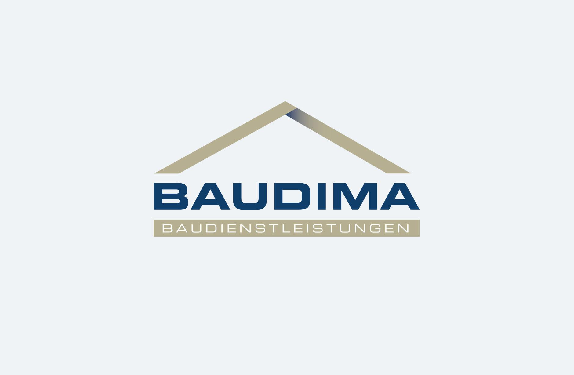 Baudima Baudienstleistungen Logo – Newsign Grafik