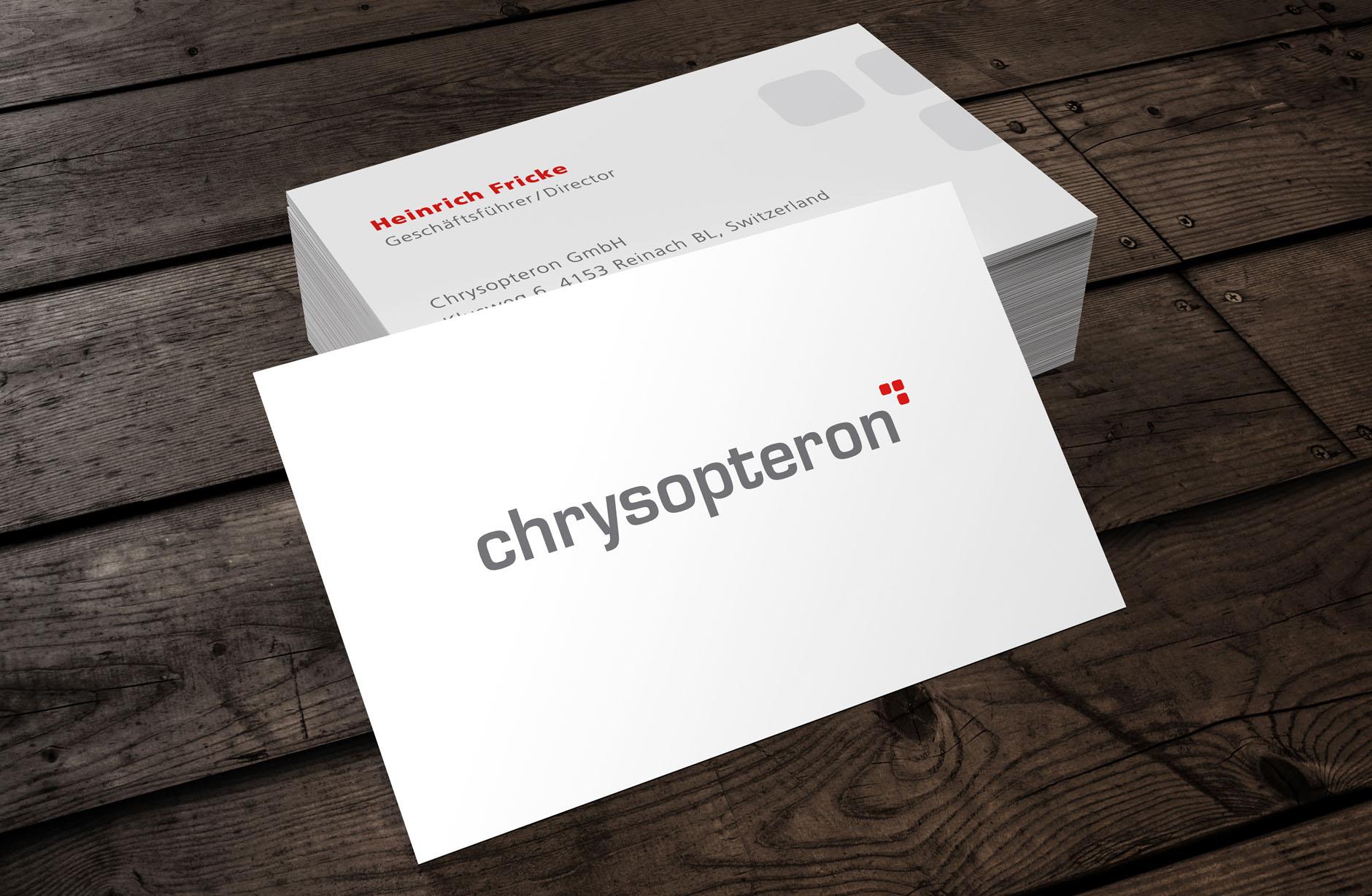 Chrysopteron Logo – Newsign Grafik
