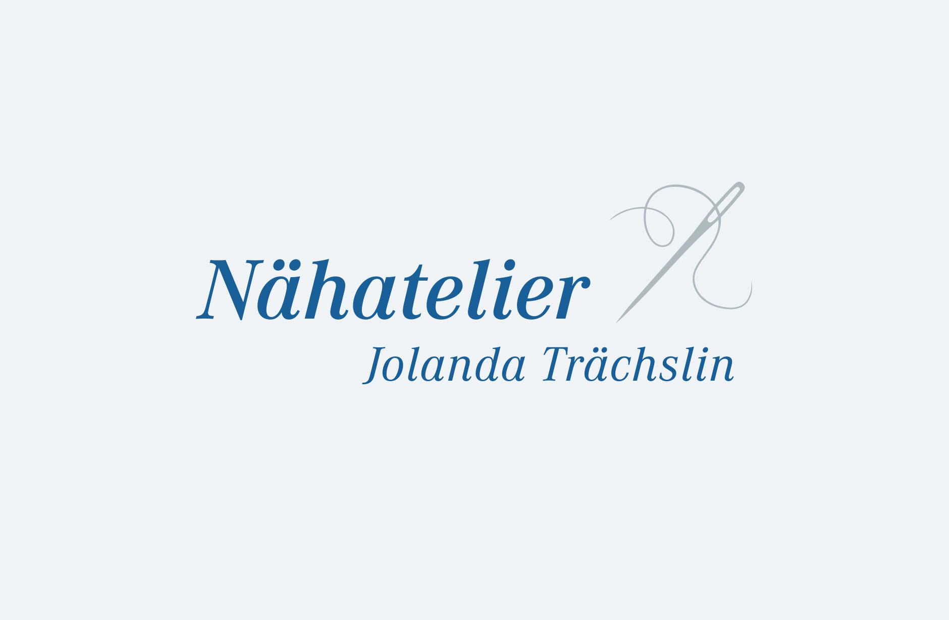Naehatelier Jolanda Trächslin Logo – Newsign Grafik