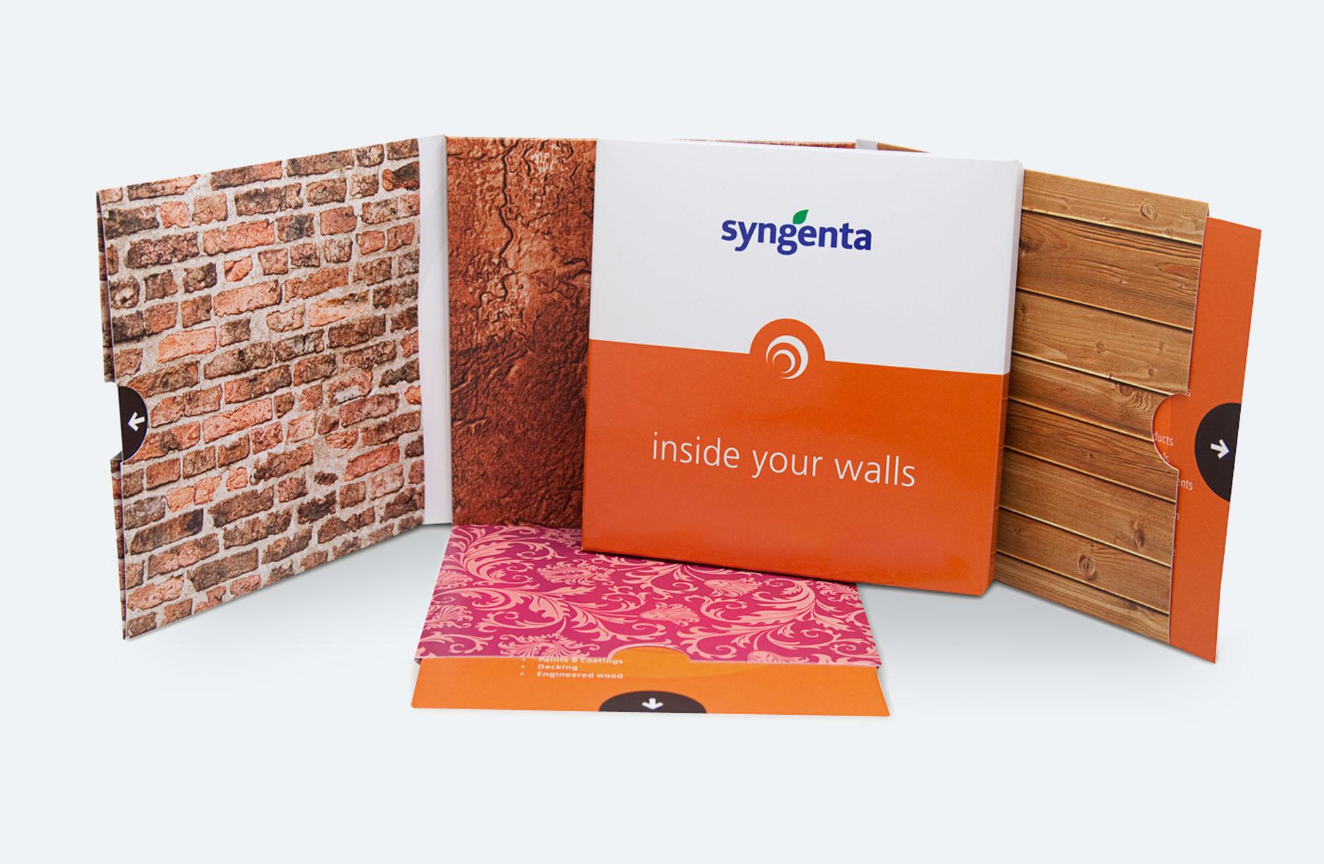 Syngenta inside your walls – Newsign Grafik