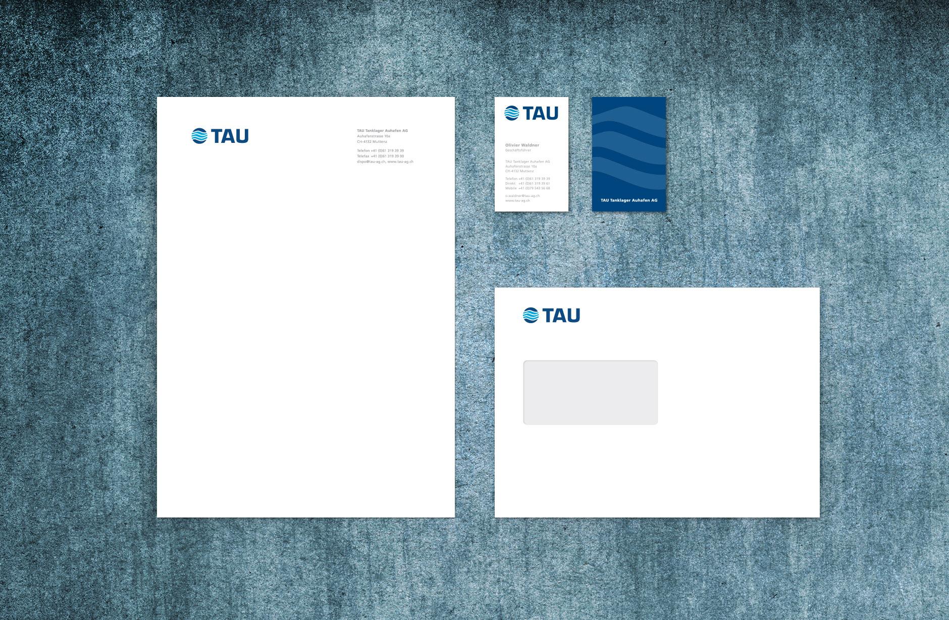 TAU Tanklager Auhafen Briefschaften